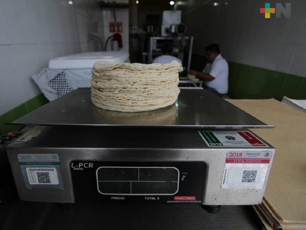 En zona Veracruz-Boca del Río subirán precio de masa y tortilla
