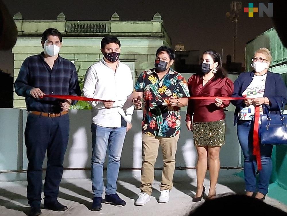 """En municipio de Veracruz, inauguraron la Galería de Arte """"La Isla"""""""