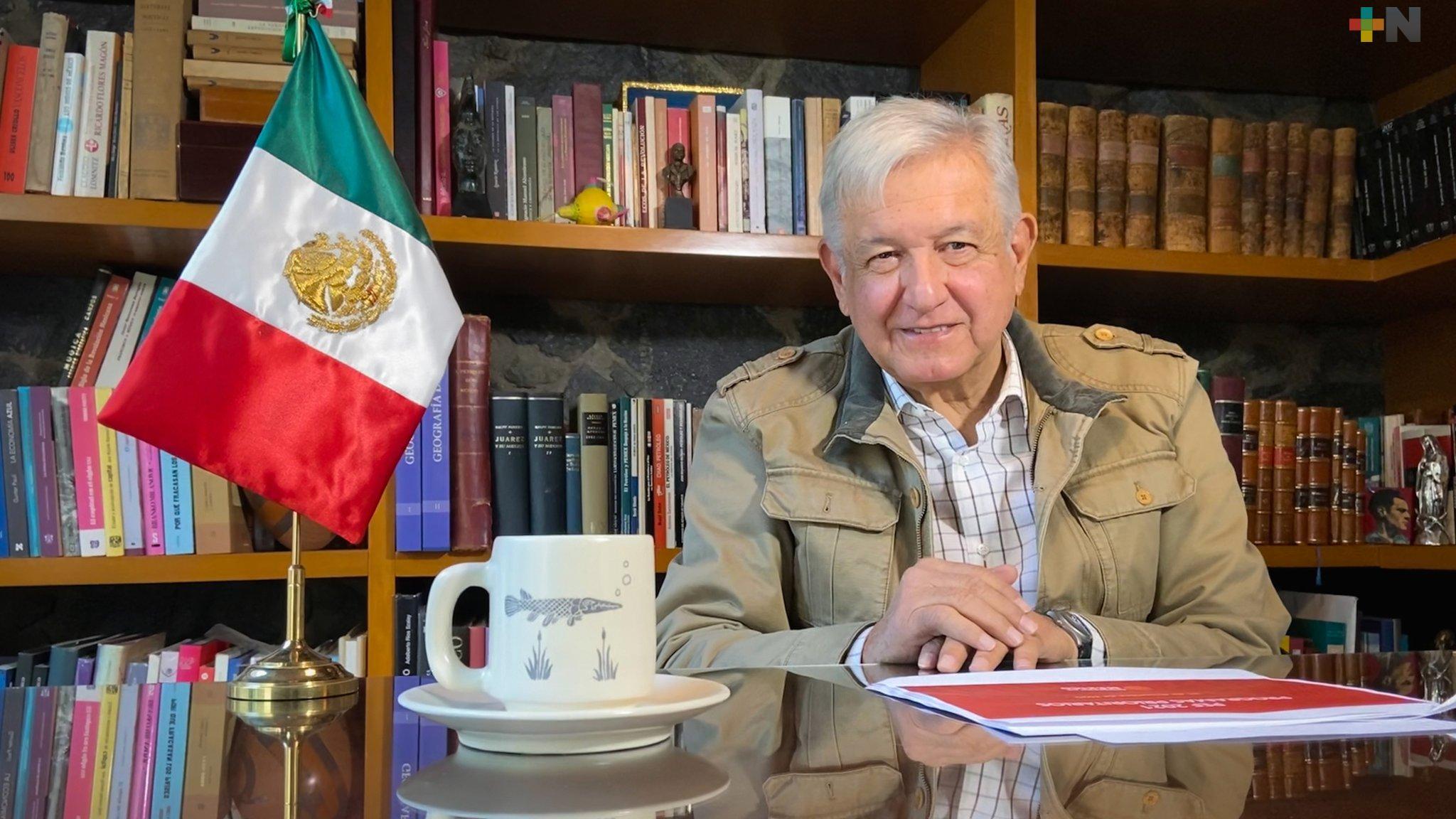 El Presidente López Obrador continúa en funciones y mejorando