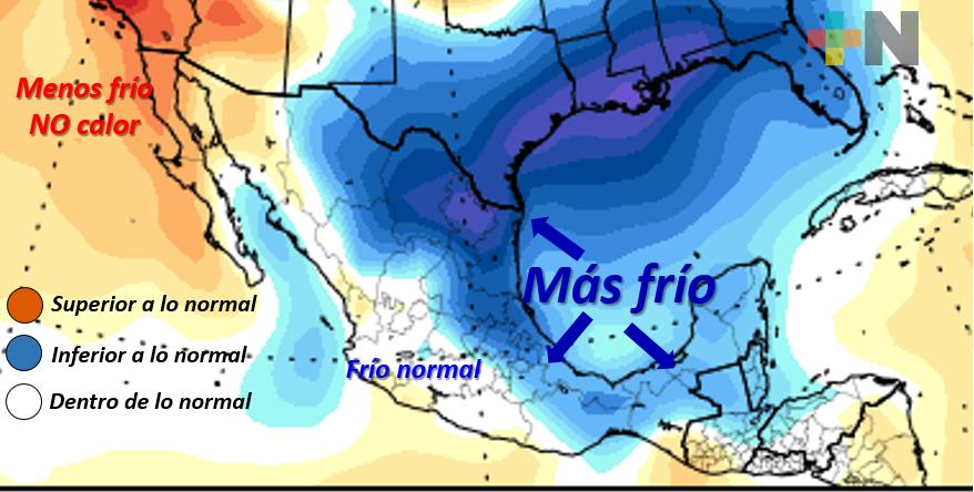 Bajas temperaturas durante los próximos días en el estado
