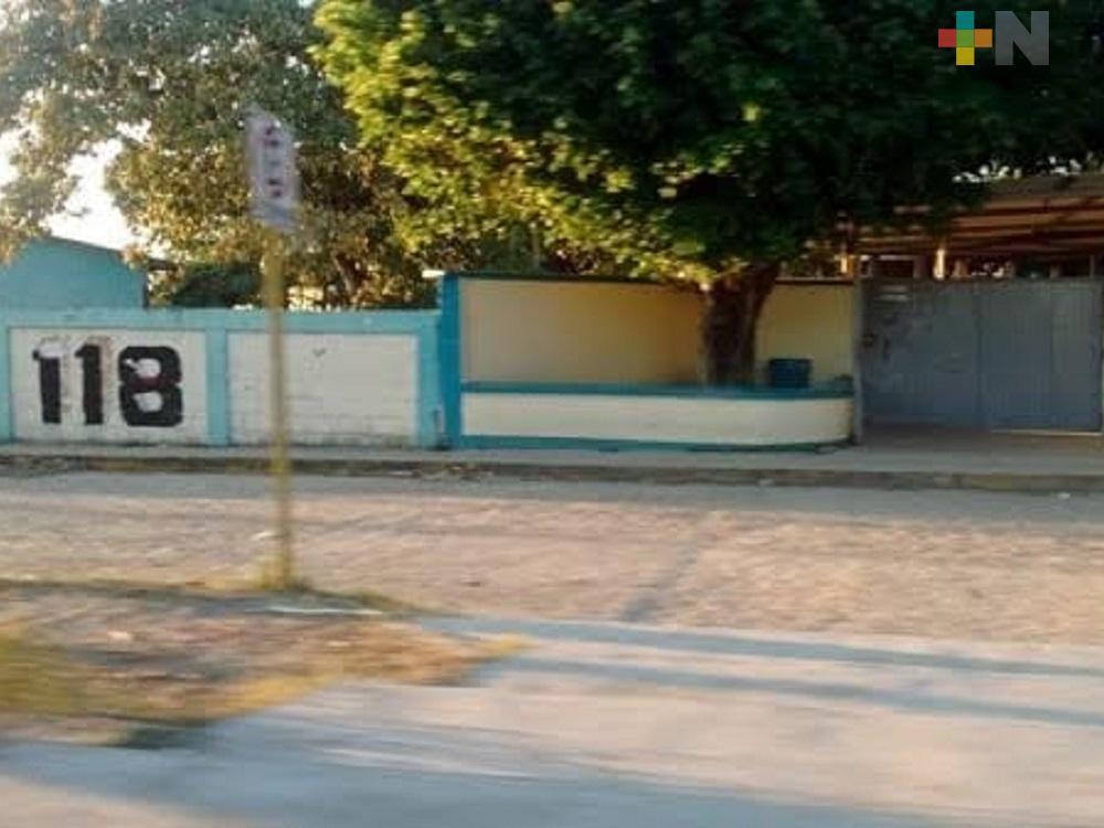 Escuela Secundaria Técnica de Nanchital, inició pre inscripciones a distancia