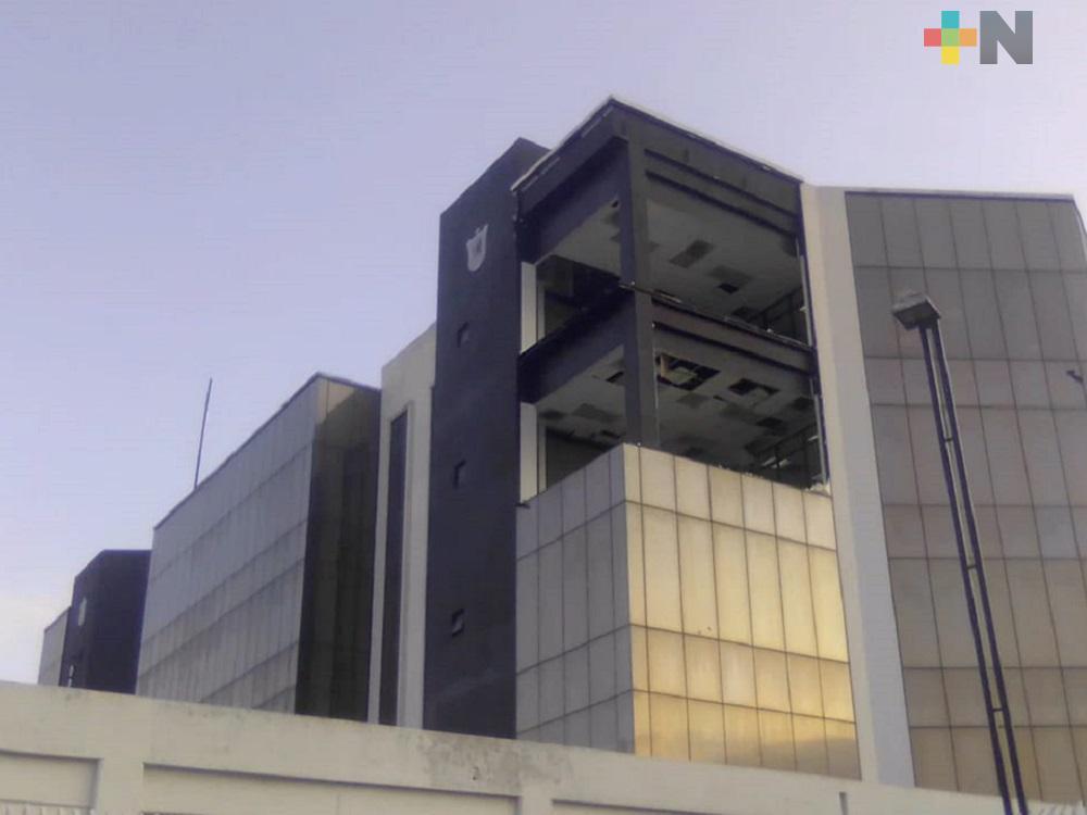 Evento de Norte de 24 de diciembre provocó extravío de expedientes en Ciudad Judicial de Veracruz