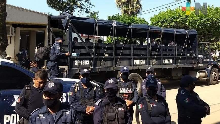 Releva SSP a Policía Municipal de Tres Valles