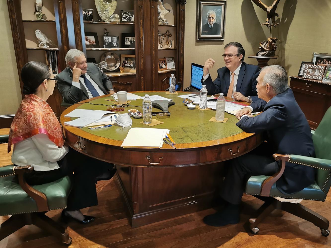 Sostuvo López Obrador comunicación telefónica con Joe Biden