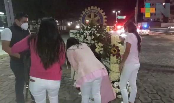 Familiares y amigos realizan ceremonia para recordar a Samara Aurora Arroyo