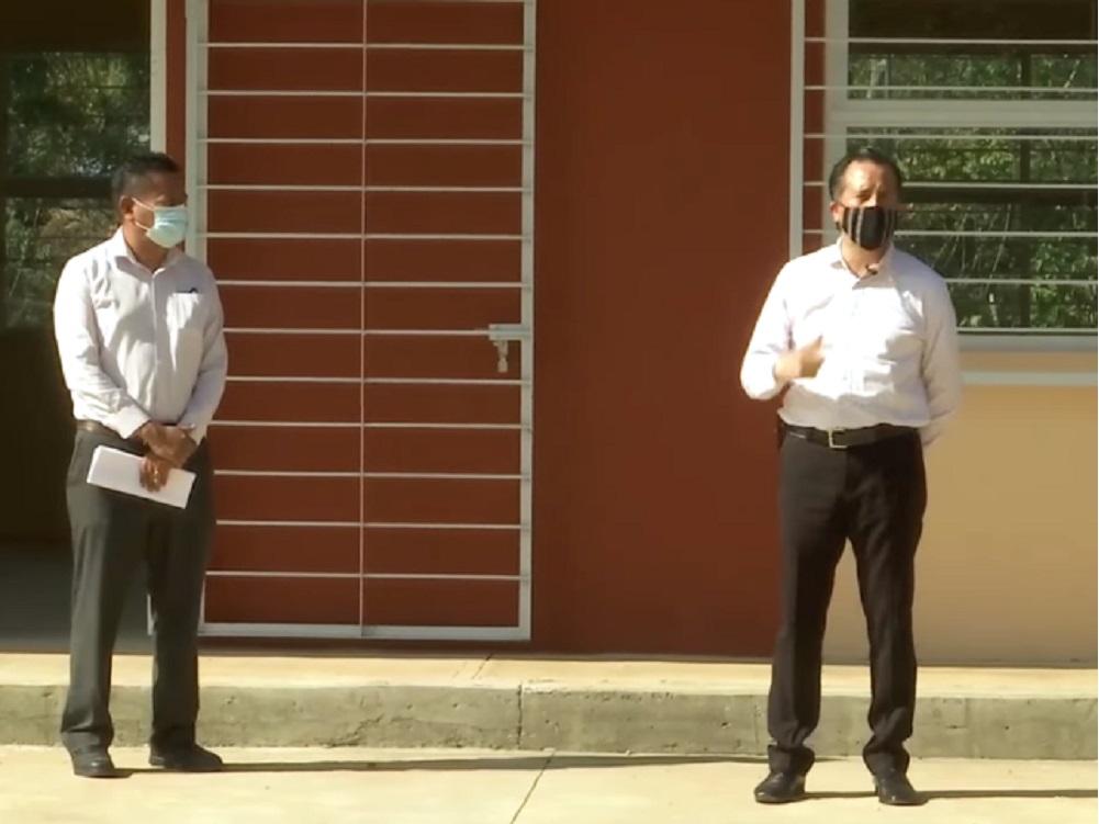 Gobernador de Veracruz entregó un telebachillerato en Córdoba