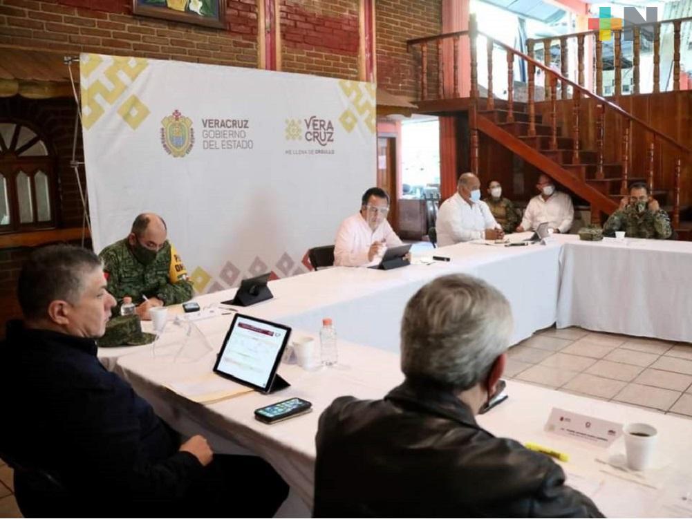 Encabezó Cuitláhuac García mesa de seguridad en el municipio de Atoyac