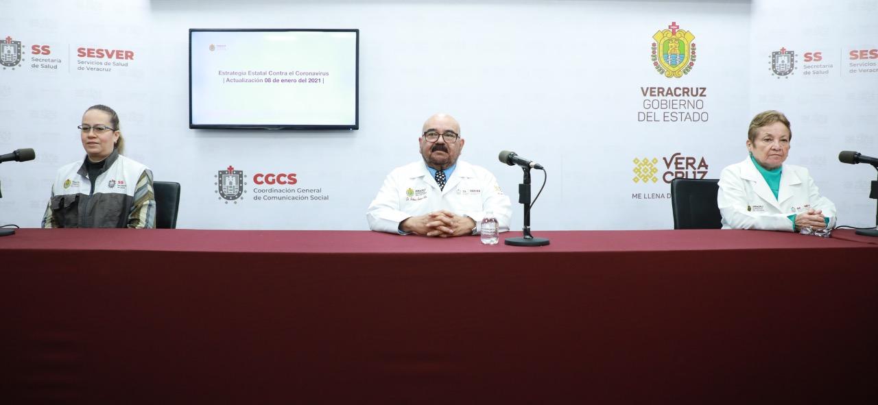 Registra Salud 436 casos nuevos de COVID-19 en Veracruz