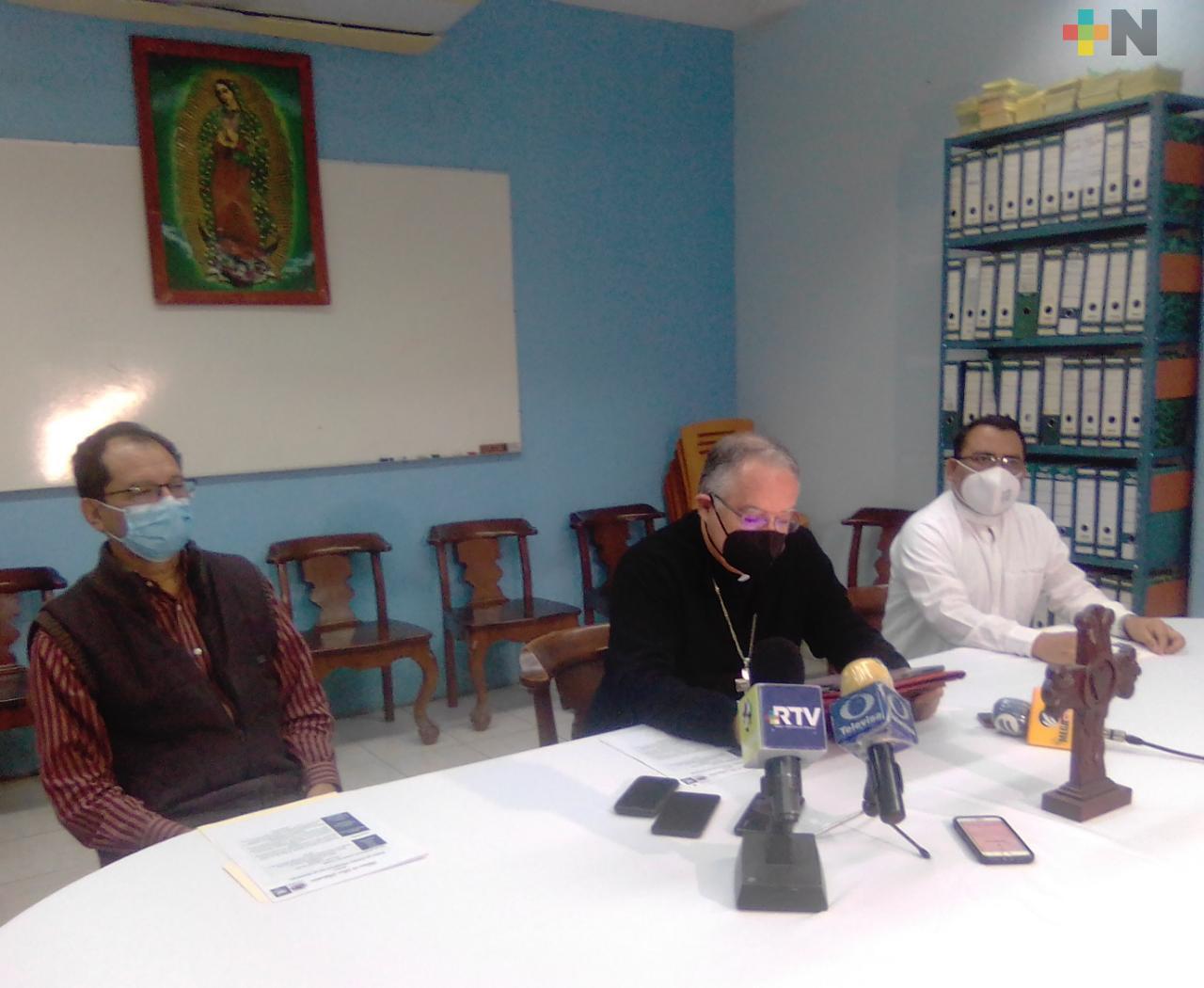 Imagen de San Sebastián será llevada en procesión por hospitales de Veracruz