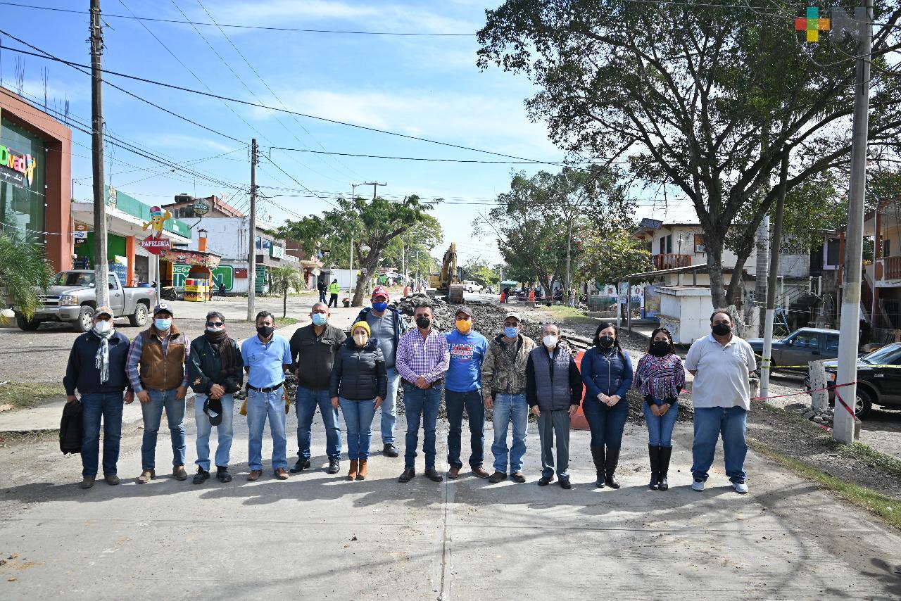 Habitantes de Tempoal respaldan la construcción del Boulevard 5 de Mayo