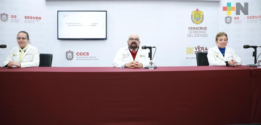 Se registran 273 casos nuevos de COVID-19 en Veracruz