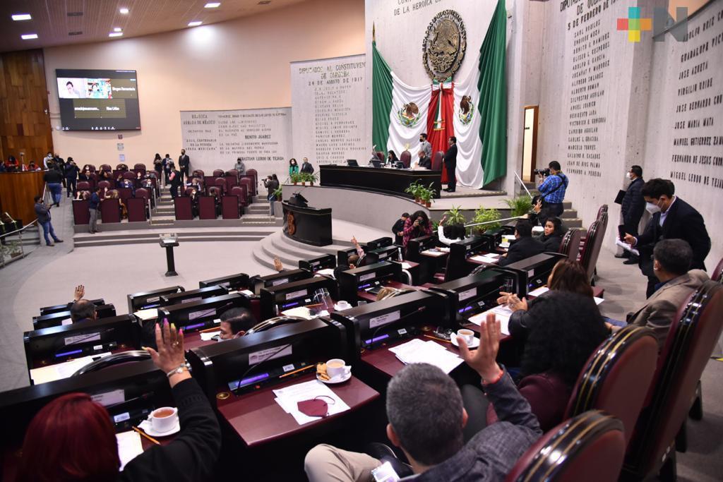 Autorizó Congreso de Veracruz a tres diputados, licencia para separarse del cargo