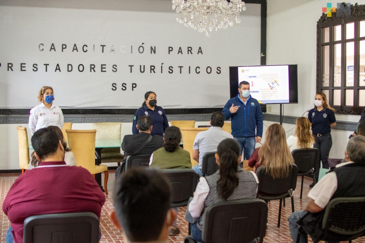 Capacita SSP a prestadores de servicios turísticos en Fortín