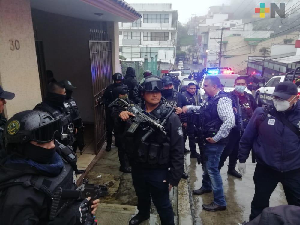 Rescata SSP a víctimas de secuestro en Xalapa
