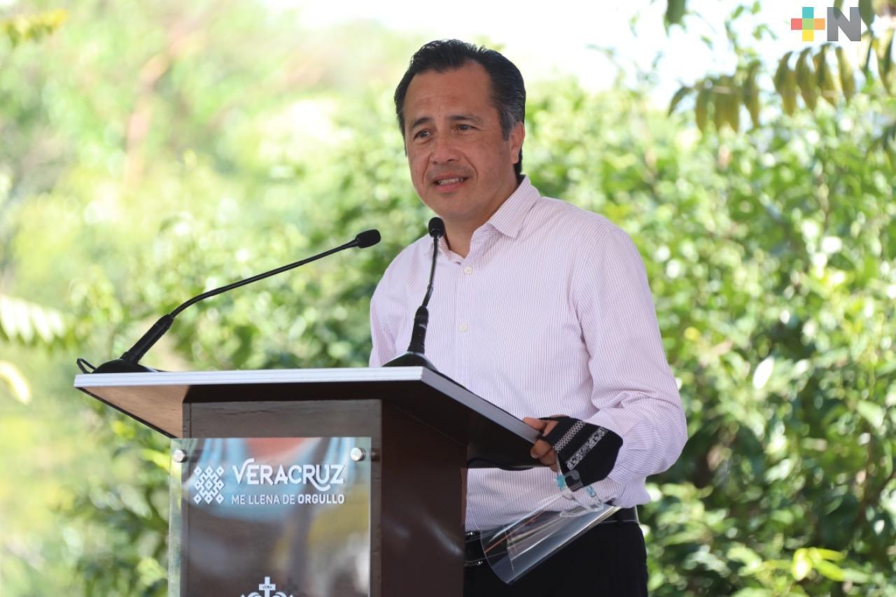Reconoce el Gobernador Cuitláhuac García  trabajo policial de la SSP