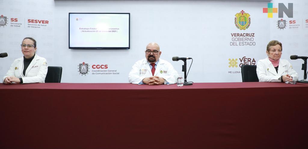Acumula Veracruz 47 mil 821 casos de COVID-19