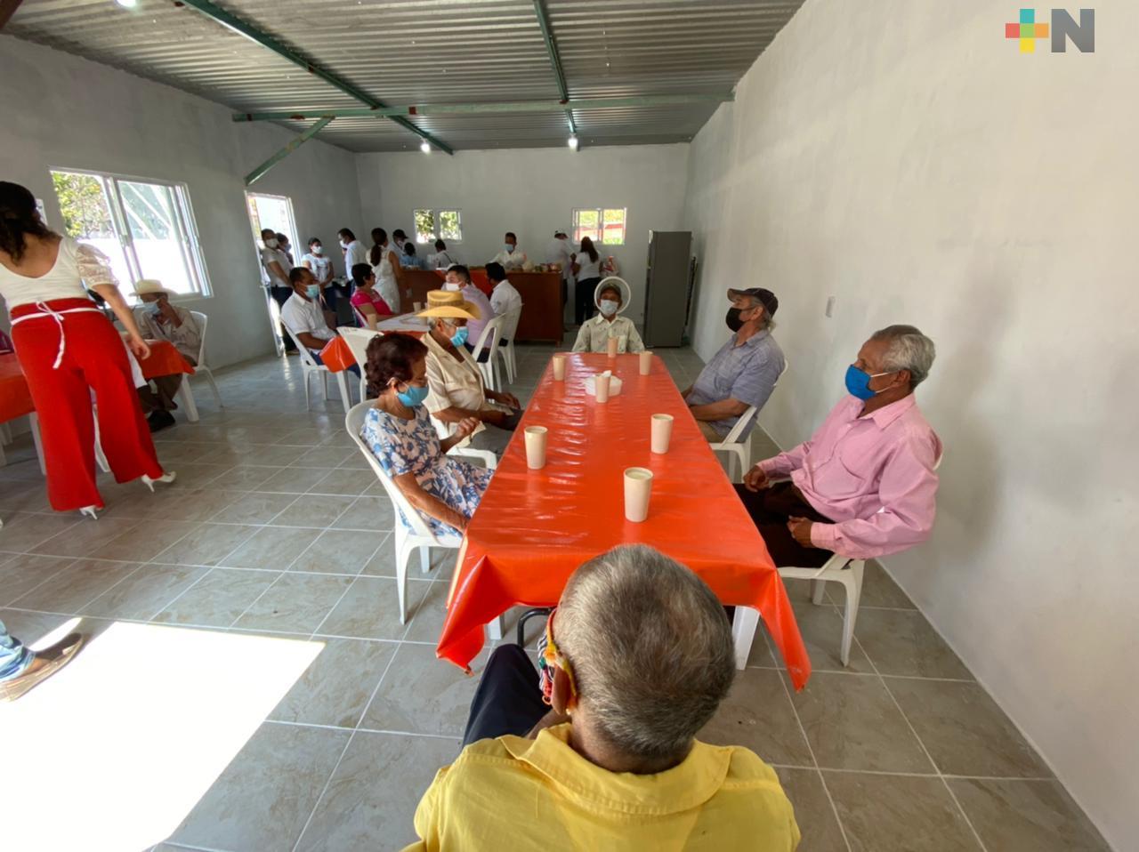 Inauguran comedor comunitario en Chacaltianguis