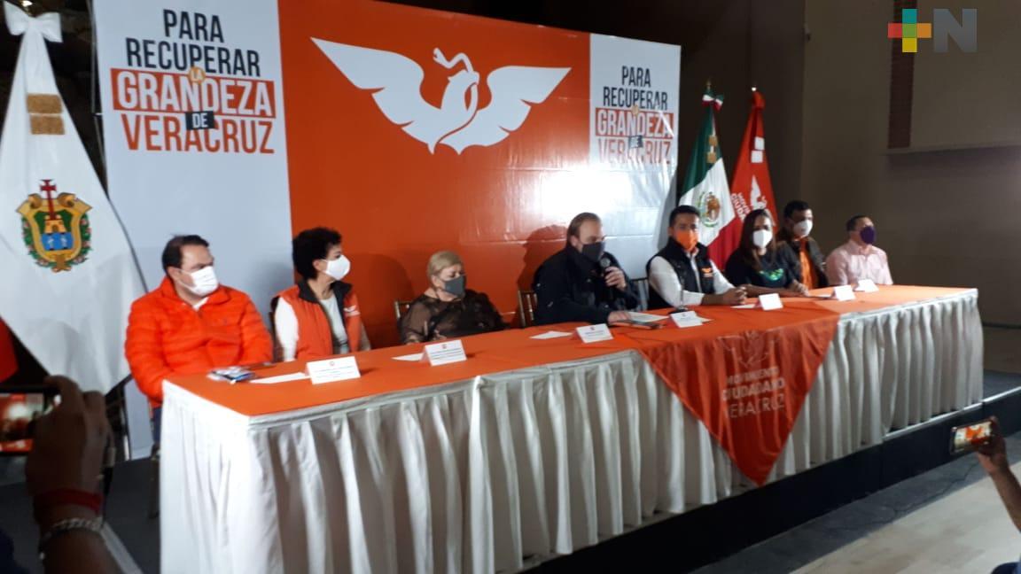 MC registra a Paquita la del Barrio como candidata a diputada local por Misantla