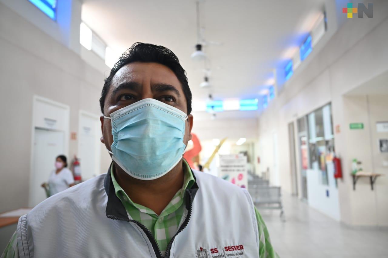 Con menos personal, pero continúan acciones preventivas de salud en Tantoyuca