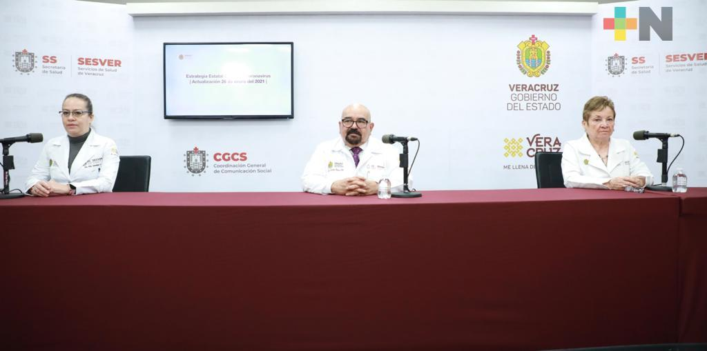 Registra Salud 213 casos nuevos positivos a COVID-19 en Veracruz