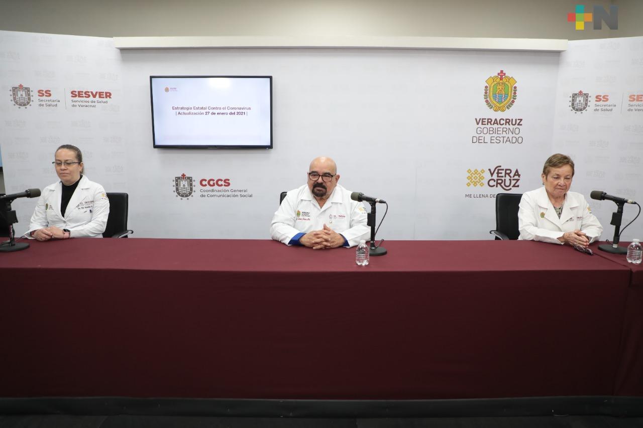 Se registran 200 casos nuevos positivos a COVID-19 en Veracruz