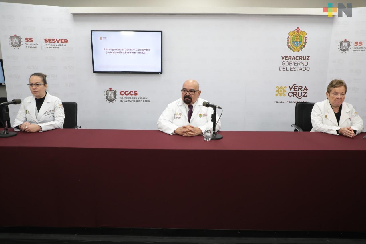 Se registran 363 nuevos casos positivos a COVID-19 en Veracruz