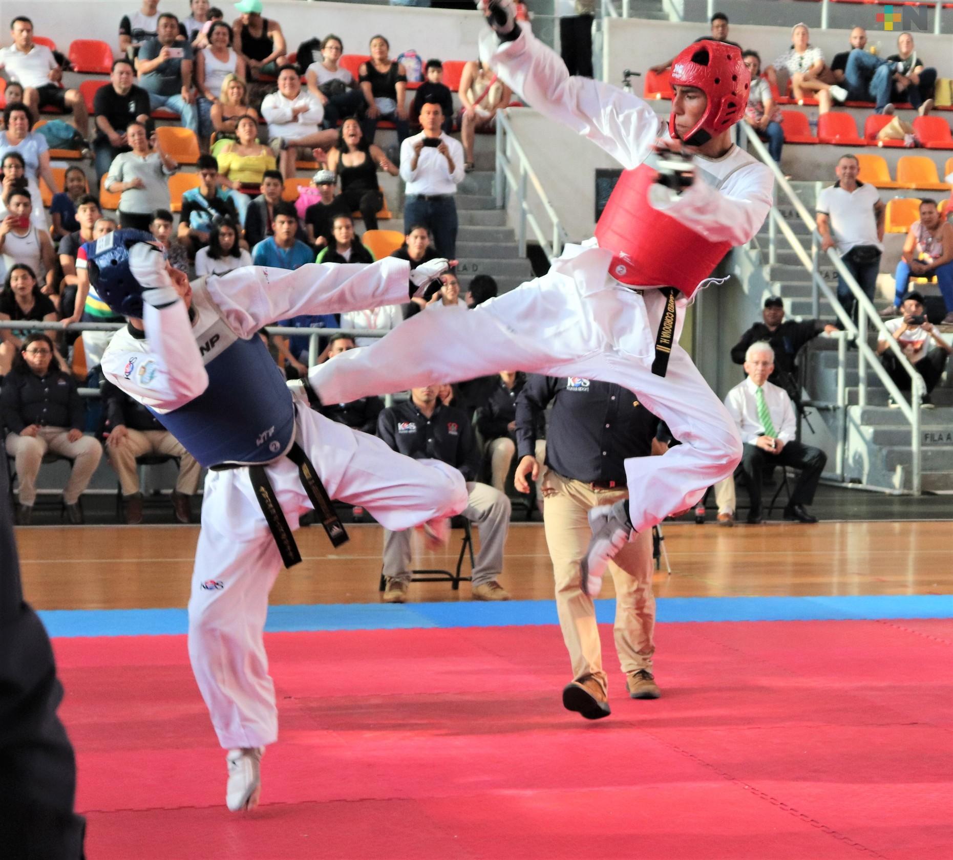 Presente Veracruz en Preselectivo Nacional de Taekwondo 2021