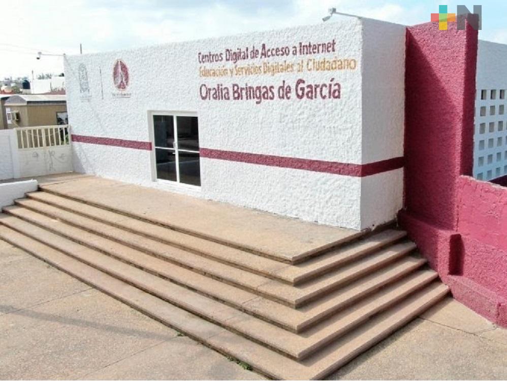 Limitan acceso de personas a bibliotecas de Coatzacoalcos