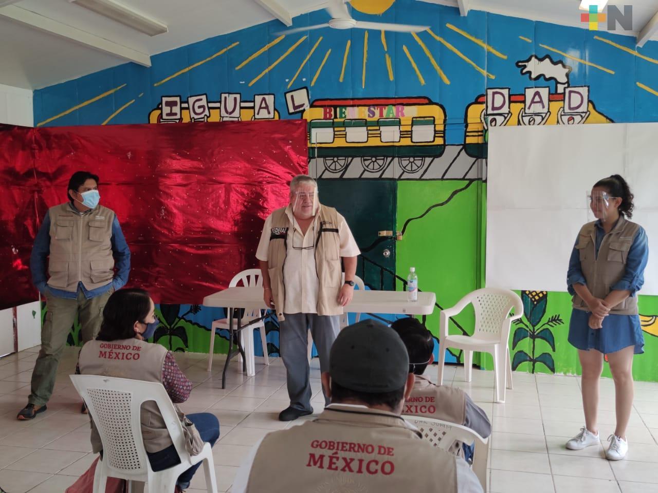 En Coatzacoalcos, Manuel Huerta anuncia cambio en Dirección Regional de Secretaría del Bienestar