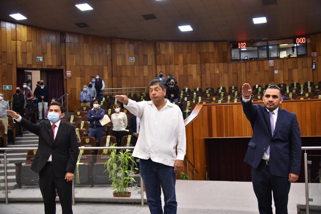 Rindieron protesta de Ley tres nuevos diputados, en el Congreso de Veracruz
