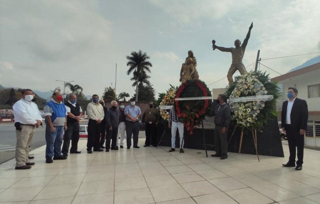 Se conmemoró 114 aniversario de los Mártires del 7 de Enero, en Río Blanco