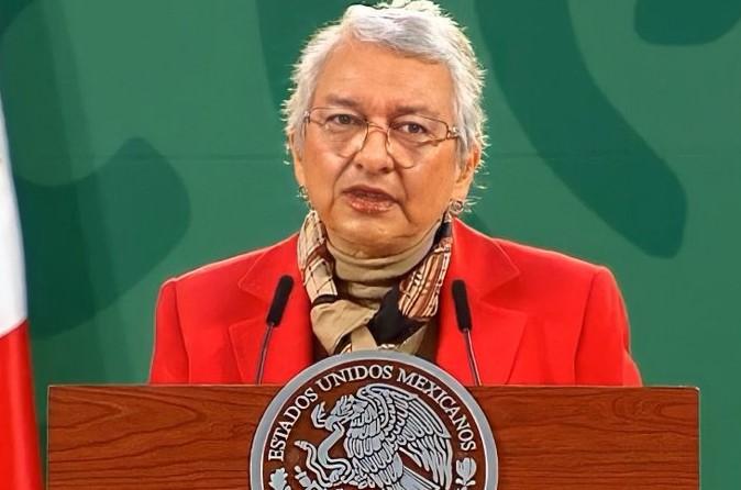 El presidente no ha sido vacunado; está fuerte y recuperándose bien: Sánchez Cordero