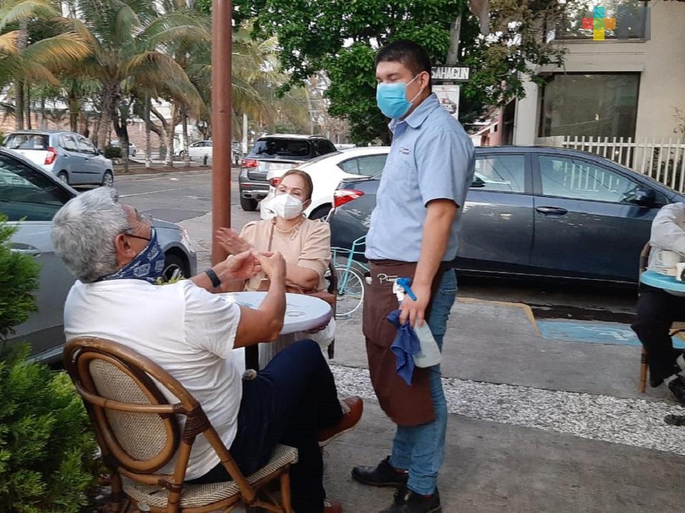 Restaurantes del municipio de Veracruz restringirán nuevamente horario de servicio