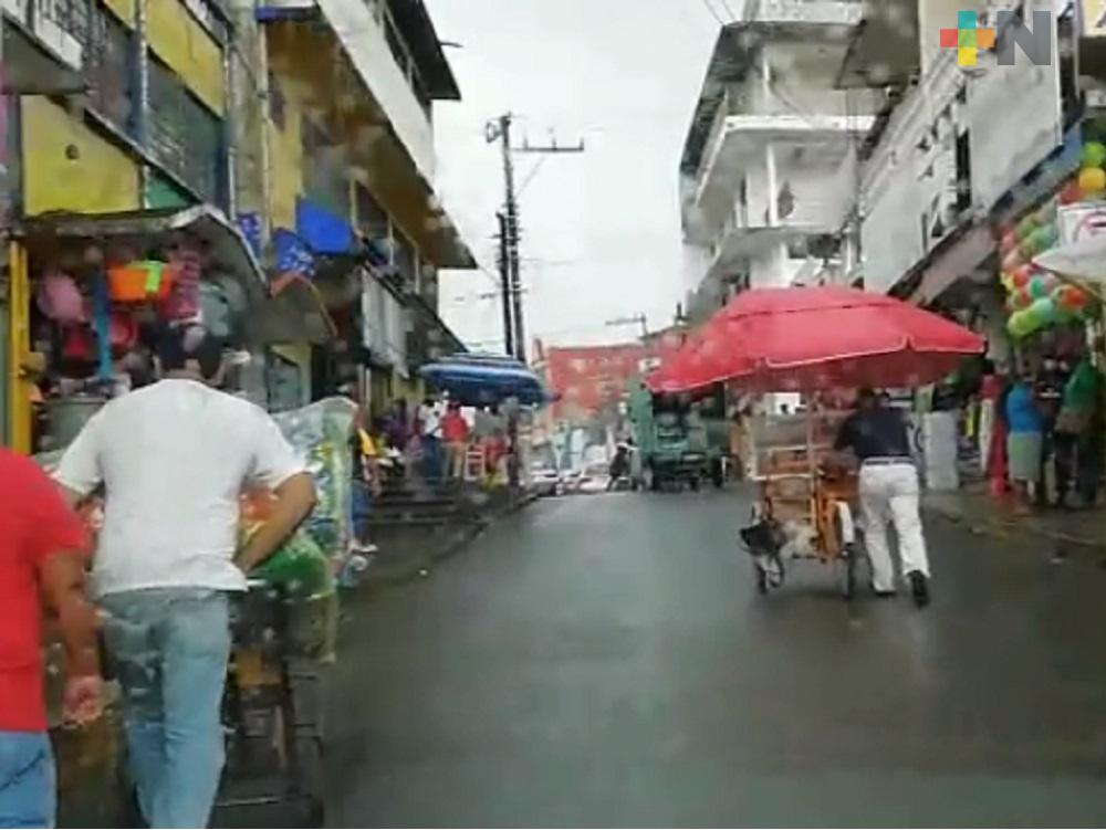 En San Andrés Tuxtla, continúan realizando acciones para evitar contagios de COVID-19