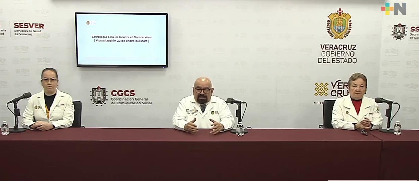 Suman 48 mil 311 casos positivos y 6 mil 800 muertes por COVID-19 en Veracruz