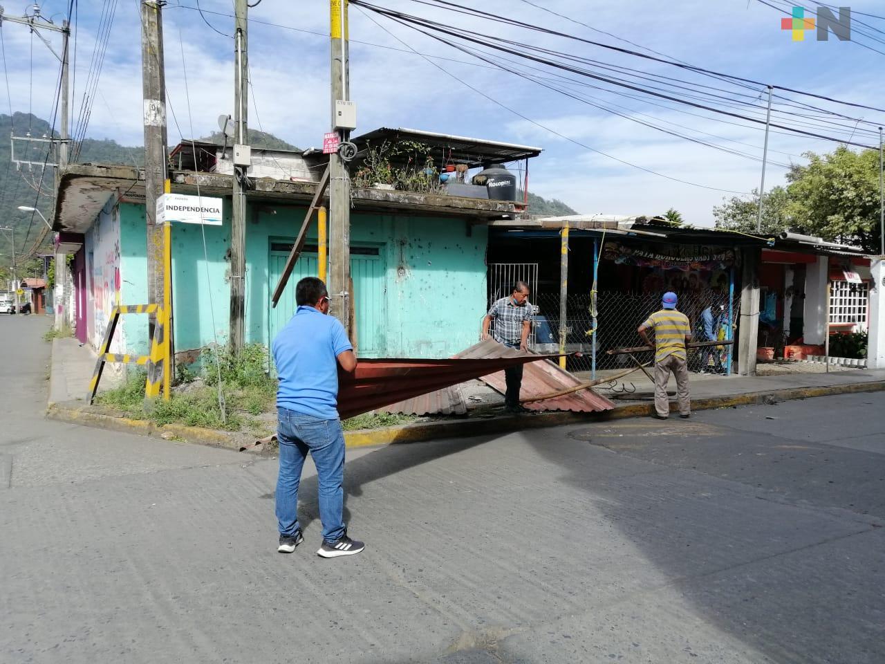 Se emitió Aviso Especial para Veracruz por surada, y llegada de frente frío para el miércoles