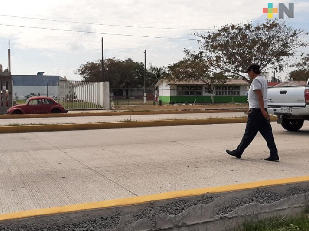 Urge construcción de puente peatonal en avenida JB Lobos del municipio de Veracruz