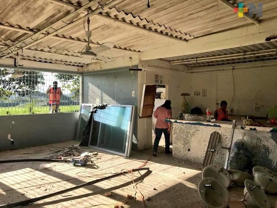 Más de 26 mdp destina UV para obras de rehabilitación  en campus de zona sur