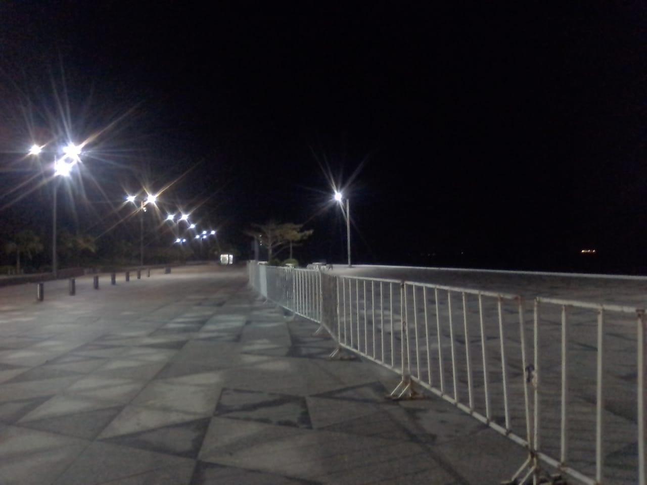 Bulevares de Boca del Río no tuvieron aglomeraciones al inicio del nuevo año
