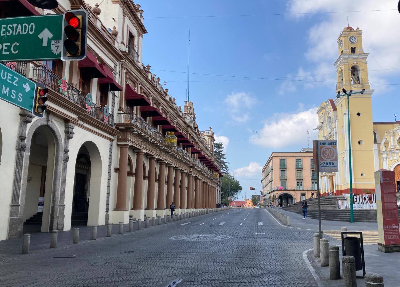 Xalapa, primer día del 2021