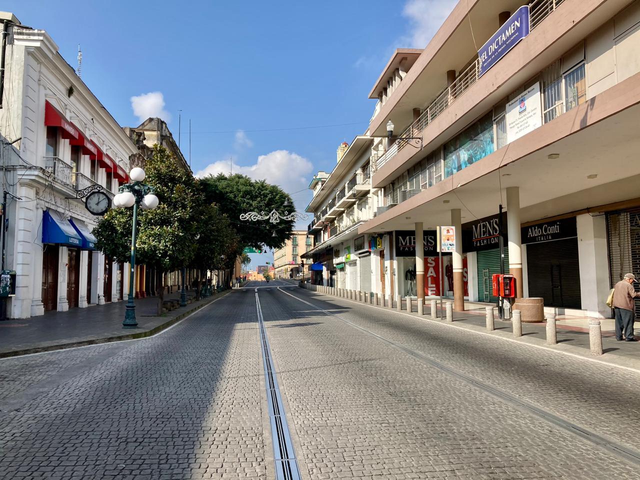 Primer día del año en Veracruz, ideal para frenar la propagación del virus