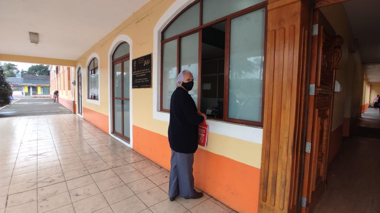 Inició el pago del Impuesto Predial en Cuichapa