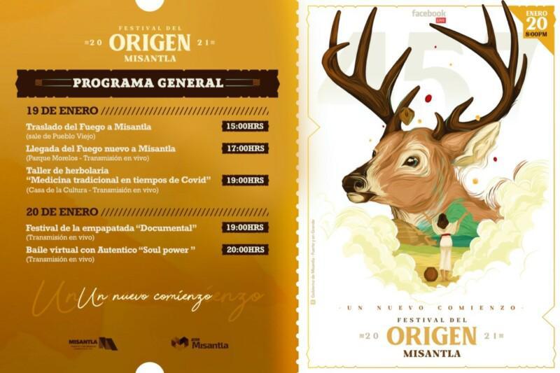 "Da inicio de manera virtual Festival del Origen ""Un nuevo Comienzo"""