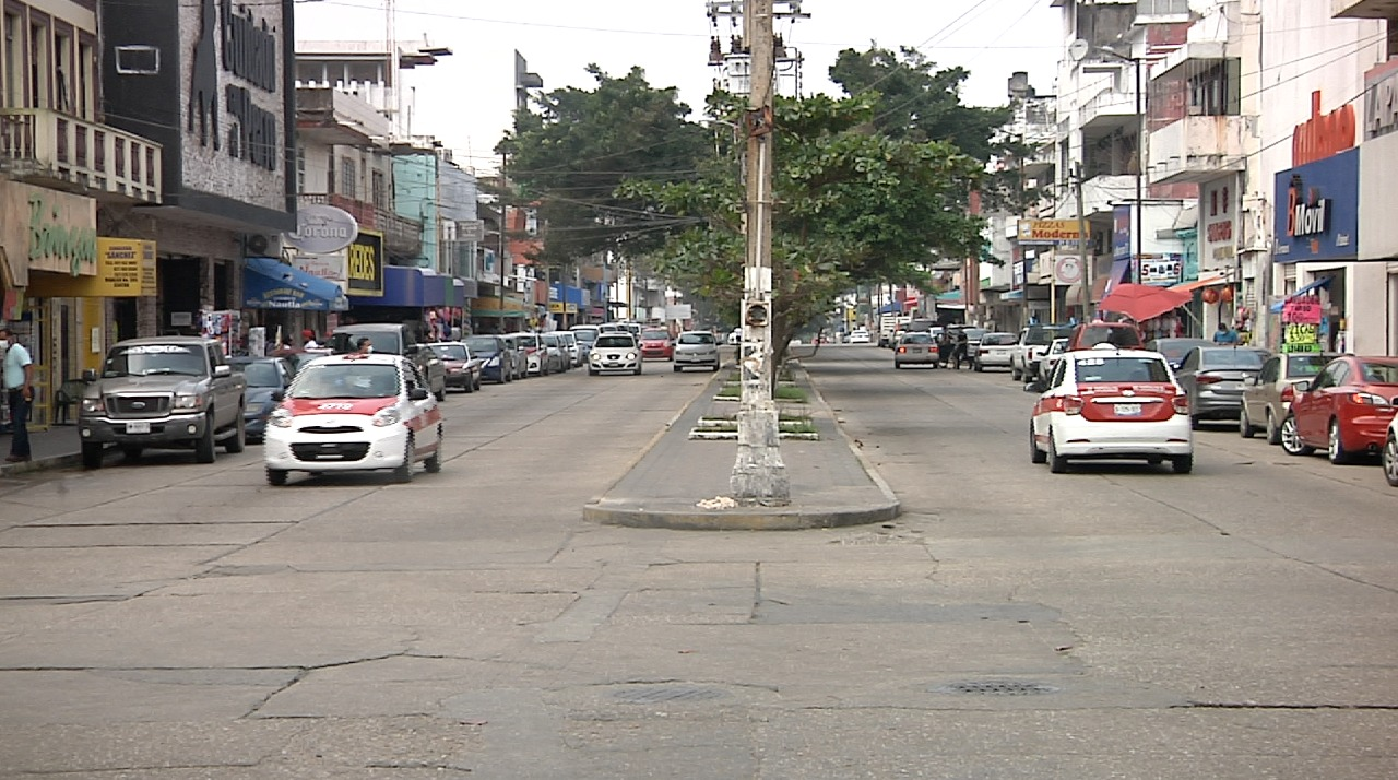 En Coatzacoalcos se mantuvo operativo para reducir movilidad
