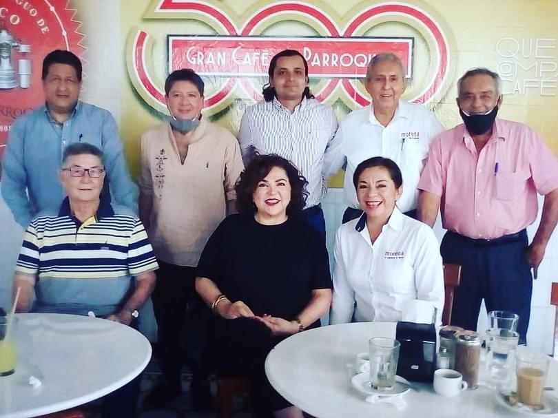 Nena de la Reguera buscará ser la primera alcaldesa de Boca del Río