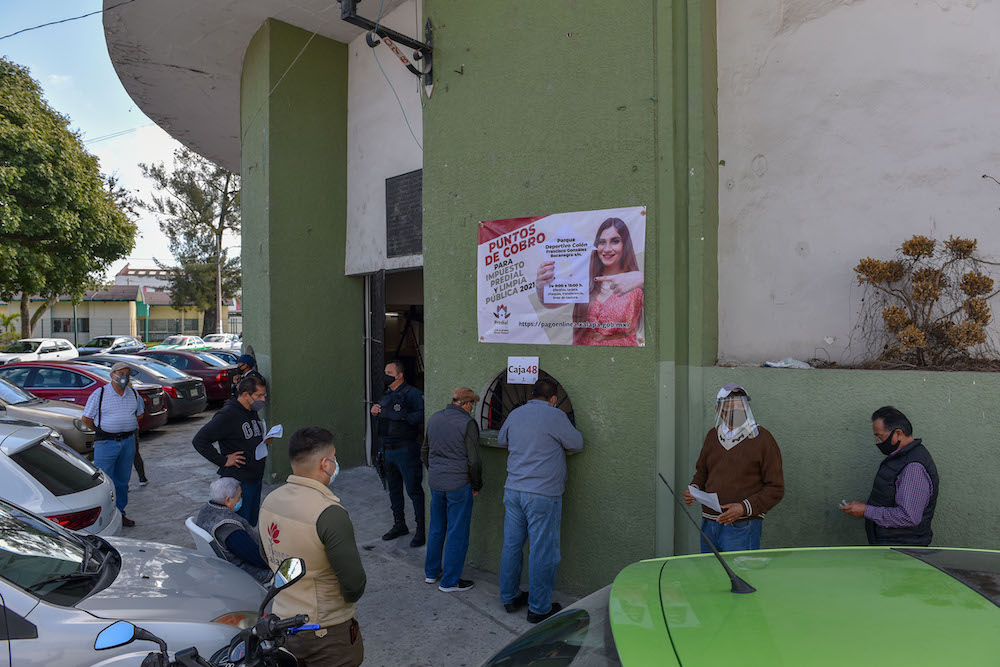 Hay alternativas para el pago de predial en Xalapa