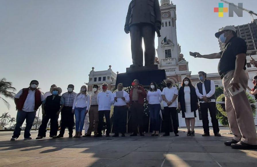 Organizaciones campesinas conmemoraron aniversario de la Promulgación de la Ley Agraria