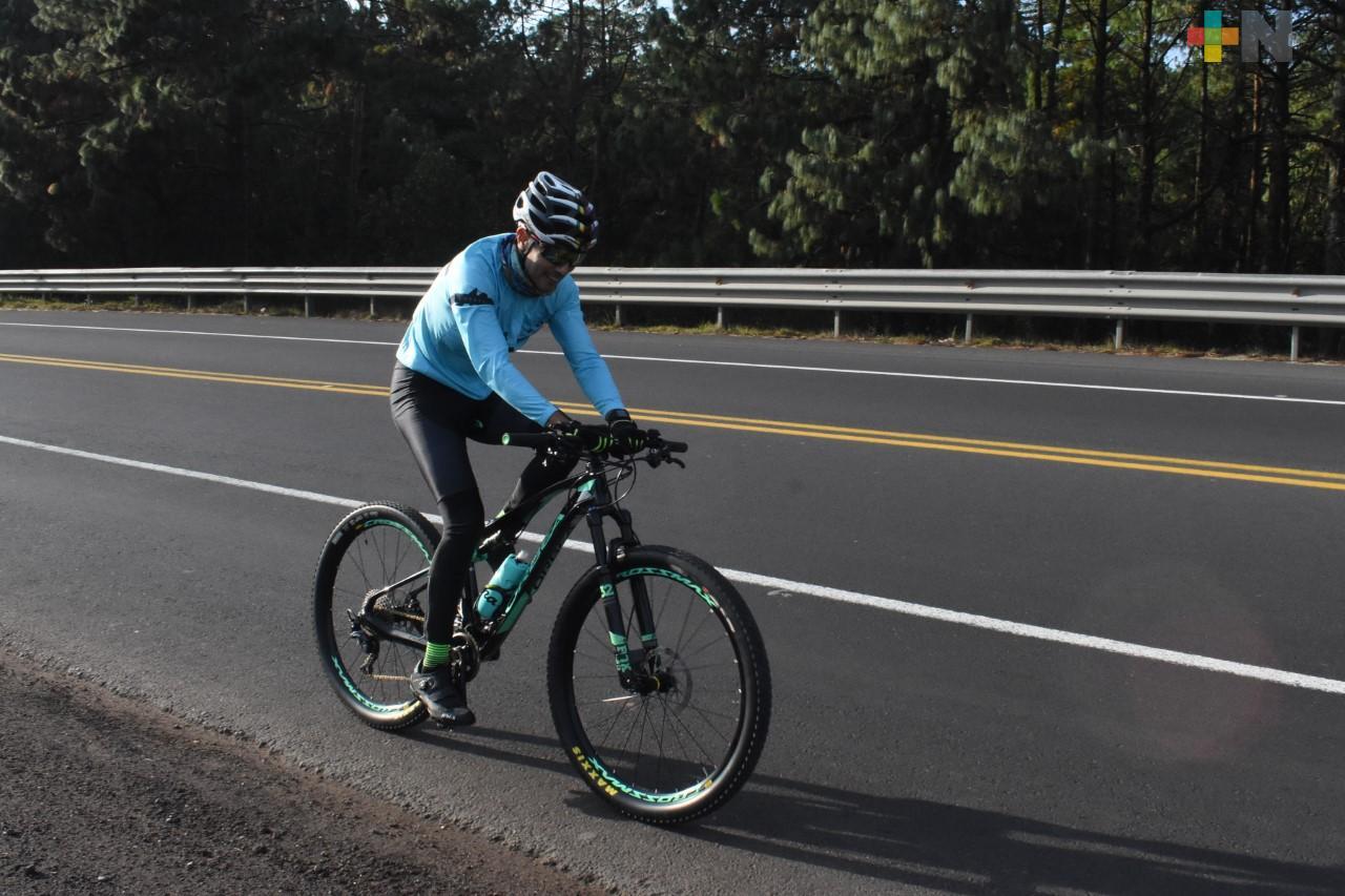 El ciclismo, es una forma de vida: Carlos Rizo