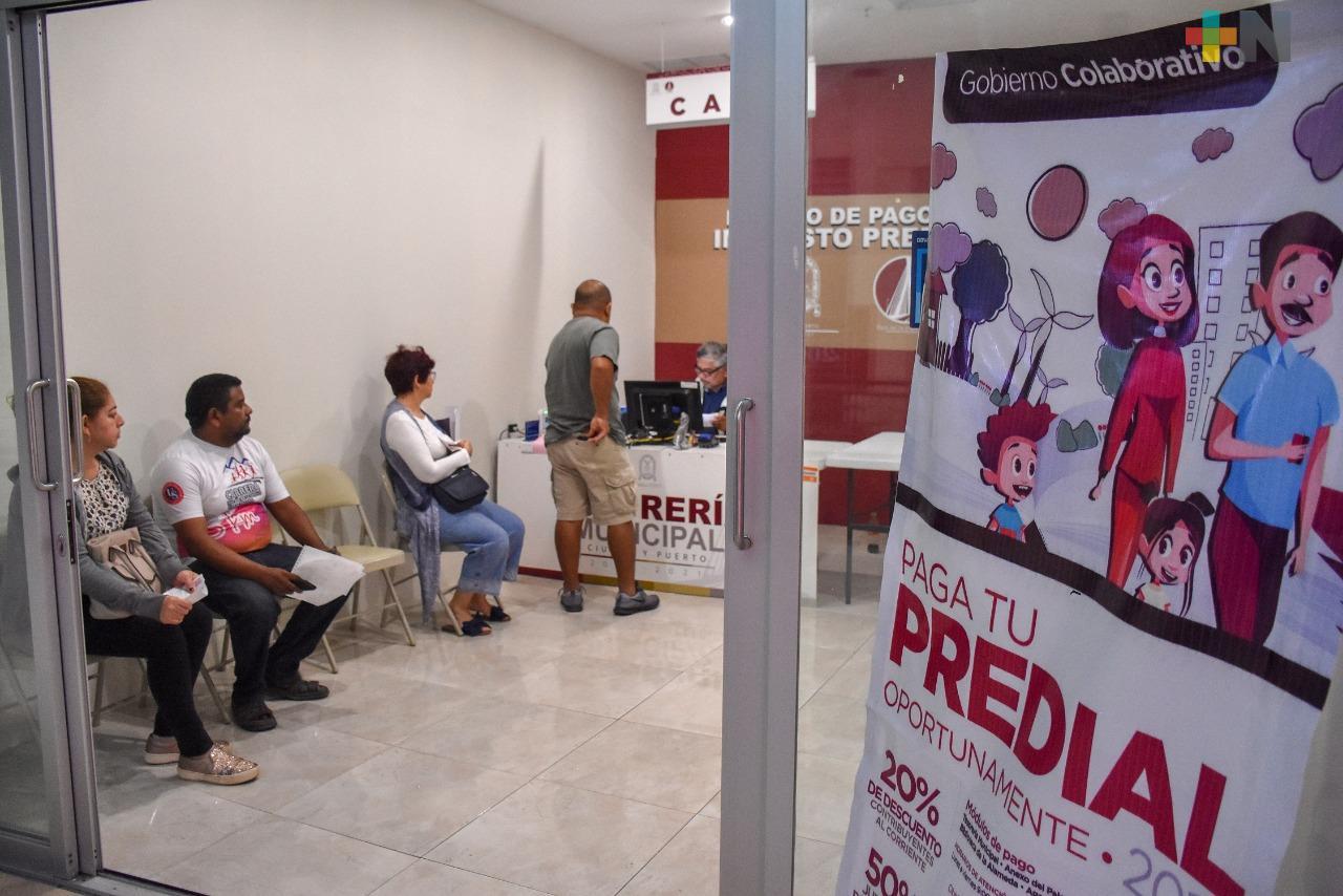 El 6 de enero iniciará el cobro del impuesto predial en Coatzacoalcos