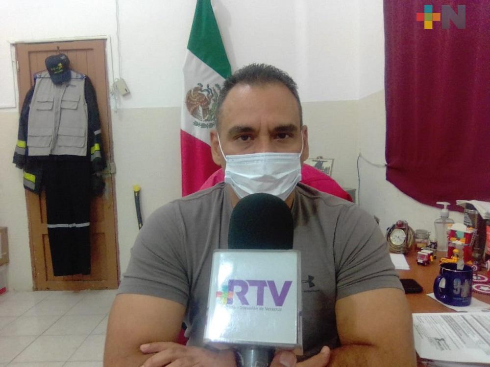 Evento de Norte, deja leves afectaciones en puerto de Veracruz